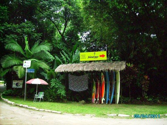 Itamambuca Beach: Aluguel de pranchas