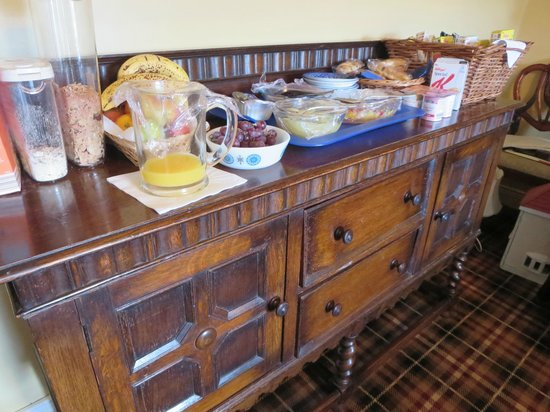 Greencarts Farm: Ontbijtbuffet