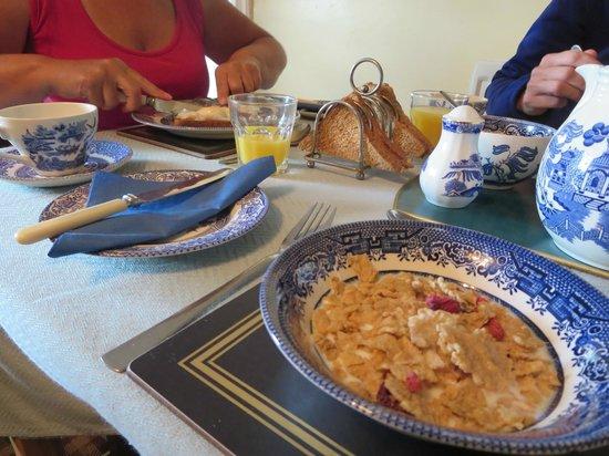 Greencarts Farm: Ontbijt