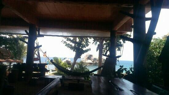 Poseidon Resort : restaurant with great view