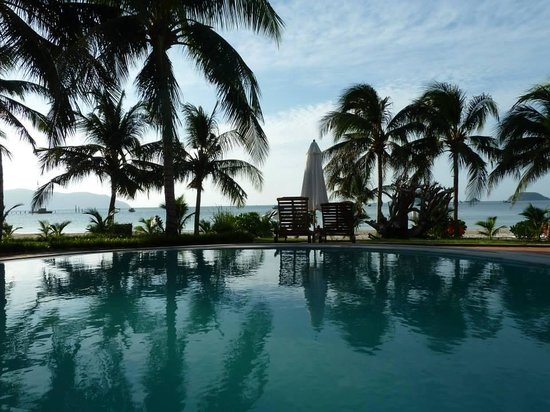 Con Dao Resort: Hotelpool