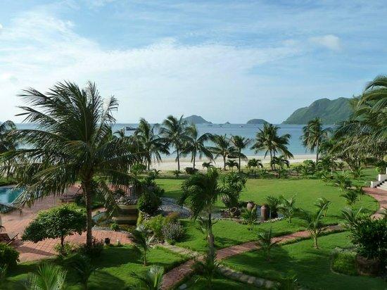 Con Dao Resort: Aussicht vom Zimmer