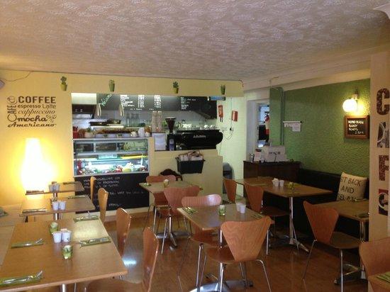 Stairwell Cafe: Cafe Design
