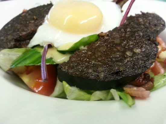 Stairwell Cafe: Warm Breakfast Salad