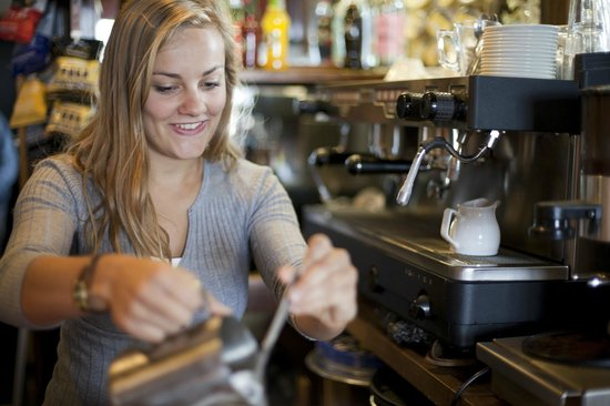The Amberley Inn: Coffees served all day