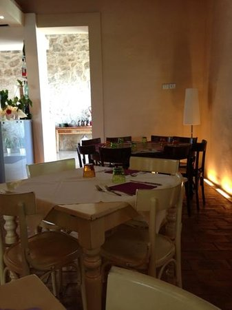 sala da pranzo( rilassantissima) - Bild von The Country House Il ...