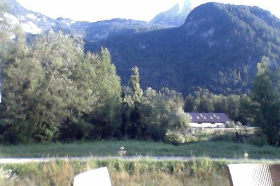 Resort Obertraun: view from the terrace