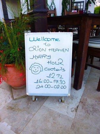 Orion Hotel: Loving the Turk-lish