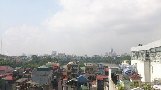Hanoi Tirant Hotel: Executive room view 2