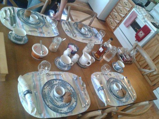 Le Royal Champetre: Belle table !