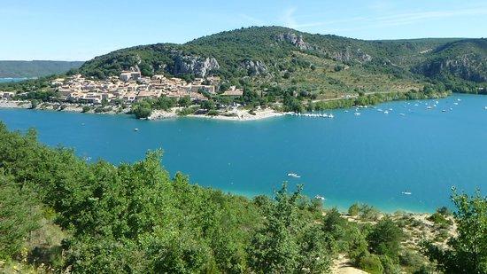 La Bastide de Moustiers : lac sainte-croix et Bauduen
