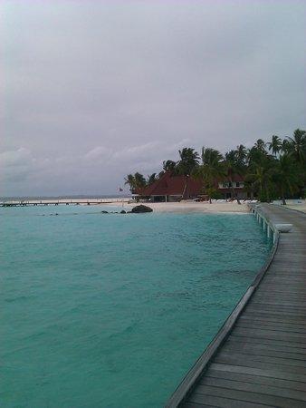 Diamonds Thudufushi: La spiaggia