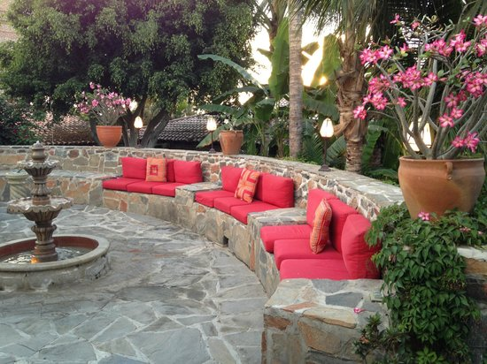 Todos Santos Inn: Banquette