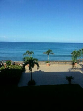 Villa Cofresi Hotel: view from our balcony