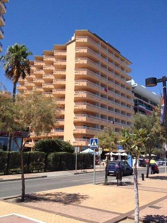 Apartamentos La Jabega: view of hotel