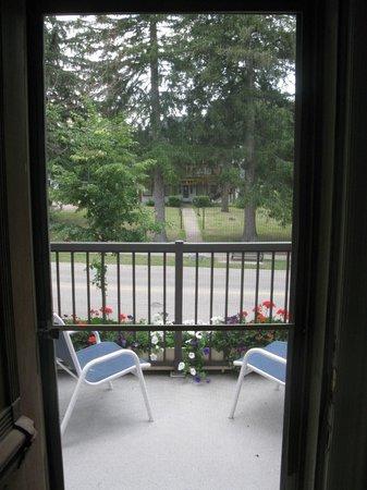 Westover's Three Twenty B&B: view from balcony