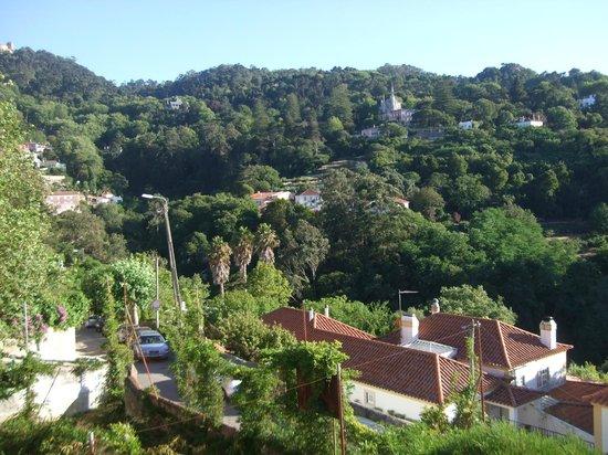 Casa Miradouro: View from the balcony