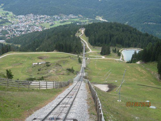 Rosshutte : View from the funicular