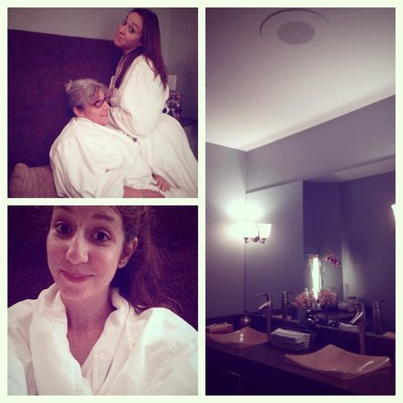 The Woodhouse Day Spa: super plush robes and a relaxing environment!
