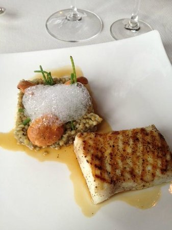 Ocean Room at The Sanctuary: Charleston swordfish