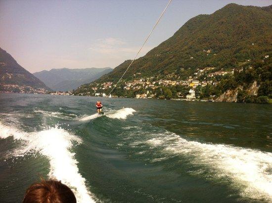 Blevio, Italia: Puro divertimento