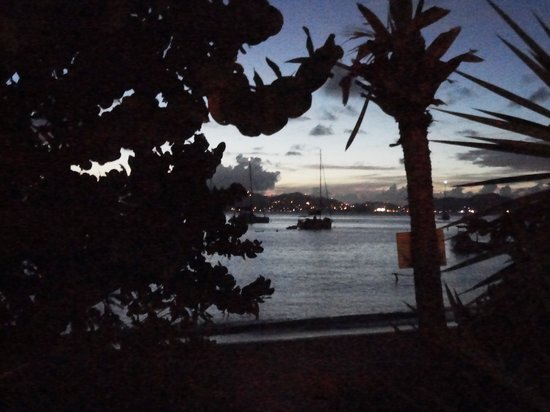 Cooper Island Beach Club: Night View 3