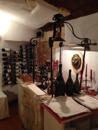 Da Marino al Saint Remy: Bonne cave ....