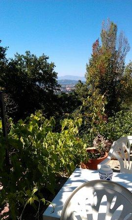 Italycountrystay Via Piana: Uitzicht vanaf terras