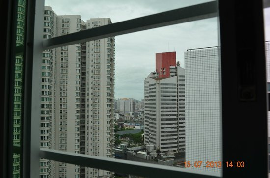 Jin'guan Hotel: View to downtown Shantou