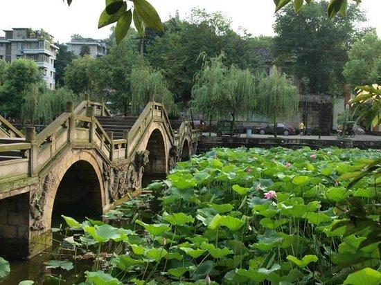 Fushun County, China: this bridge is closed