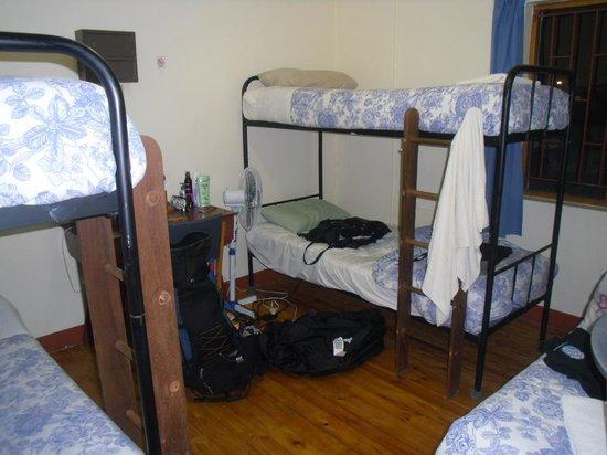 Zoete Inval Travellers Lodge: Kamer waar ik sliep