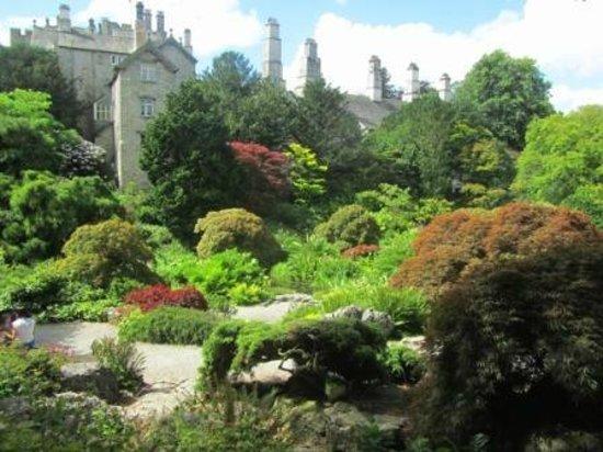 Kendal, UK : The sunken garden
