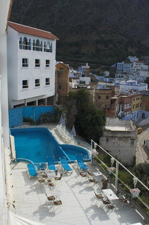 Hotel Parador: view from the room