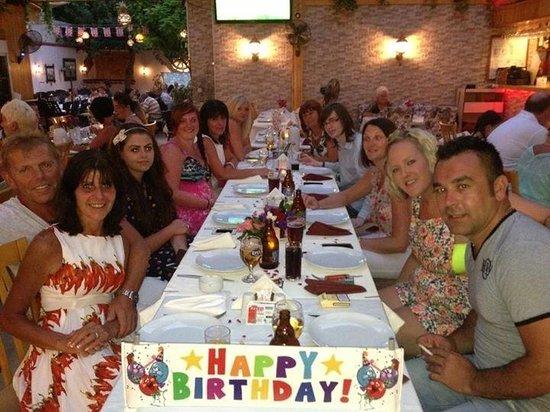 Saray Restaurant : Heresy Birthday in Saray