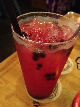 Kunyit Restaurant - The Anvaya Bali: Blueberry lemonade
