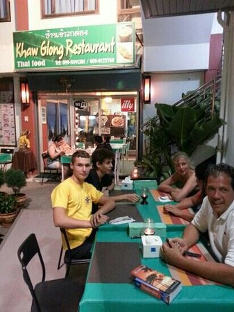 Khaw Glong Thai Restaurant: my family and friends by Khaw Glong