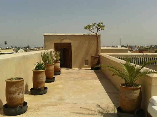 Riad Due: Rooftop terrasse