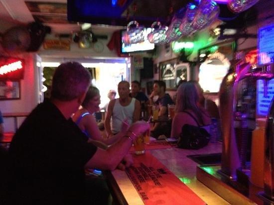 Liverpool Bar: Inside the bar
