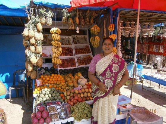 Nanu Resort Goa: Фруктовый рынок в Колве