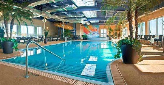 Hotel Must: Piscine intérieure   Indoor swimming pool