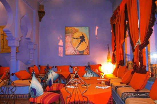 Aladdin Restaurant: main room, first floor