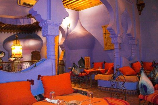 Aladdin Restaurant: main room, 1st floor