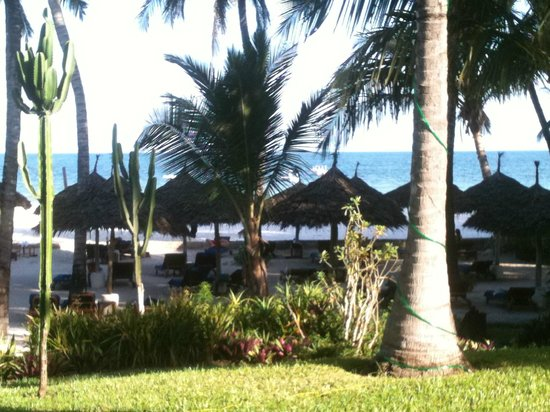 Nyali Beach: The stunning views from our suite
