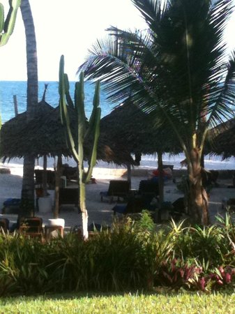 Nyali Beach: The views from our suite