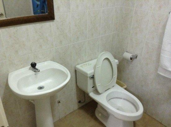 Hotel 9 de Octubre: baño