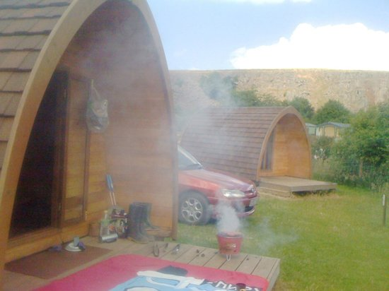 Rivendale Caravan & Leisure Park: The pod