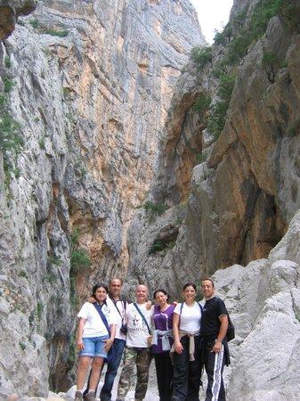 Sardegna-Ambiente Escursioni Day Hikes: All'intero del canyon di Su Gorropu
