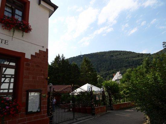 Hotel L'Antica Ruota: Hotel mit Pfälzer Wald