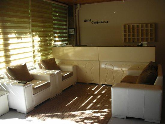 Cappadocia Hotel: Reception moderna