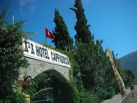 Cappadocia Hotel : Insegna